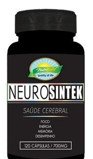 NeuroSintek Saúde Cerebral 120 Capsulas  - Nutrigold