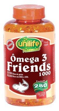 Omega 3 em Capsulas (280) Friends - Unilife