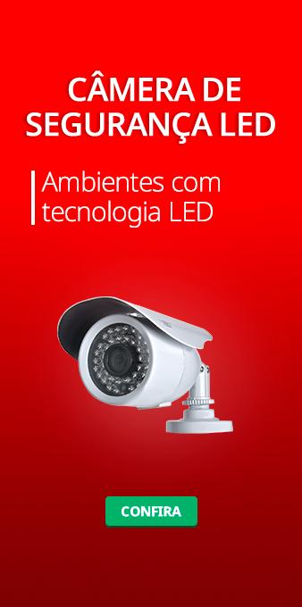 Câmera de Segurança LED