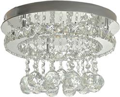 Lustre LED Cristal