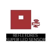 refletor super led sensor