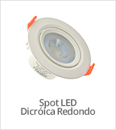 categoria spot dicroica led redondo