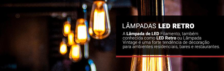 Lâmpada LED Retrô Vintage