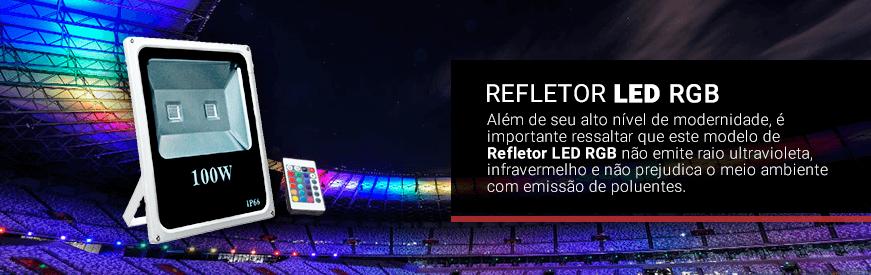 Refletores LED RGB