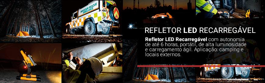 Refletores LED Recarregável