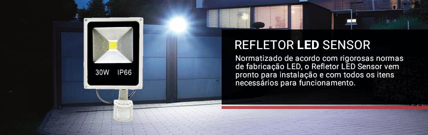 Refletores LED Sensor Presença
