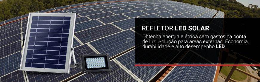 Refletores LED Solar