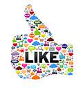 Like da rede social