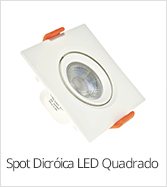 categoria Sport dicroica led quadrado