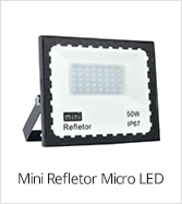 categoria mini refletor micro led