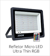 categoria refletor micro led ultra thin RGB
