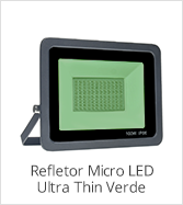 categoria refletor micro led ultra thin verde