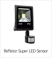 categoria refletor super led sensor