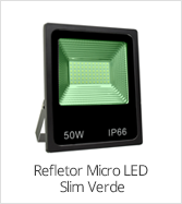 categoria refletor micro slim rgb verde