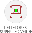 categoria refletor led verde