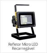 categoria refletor led recarregavel