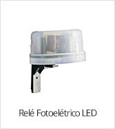 Relé Fotoelétrico LED