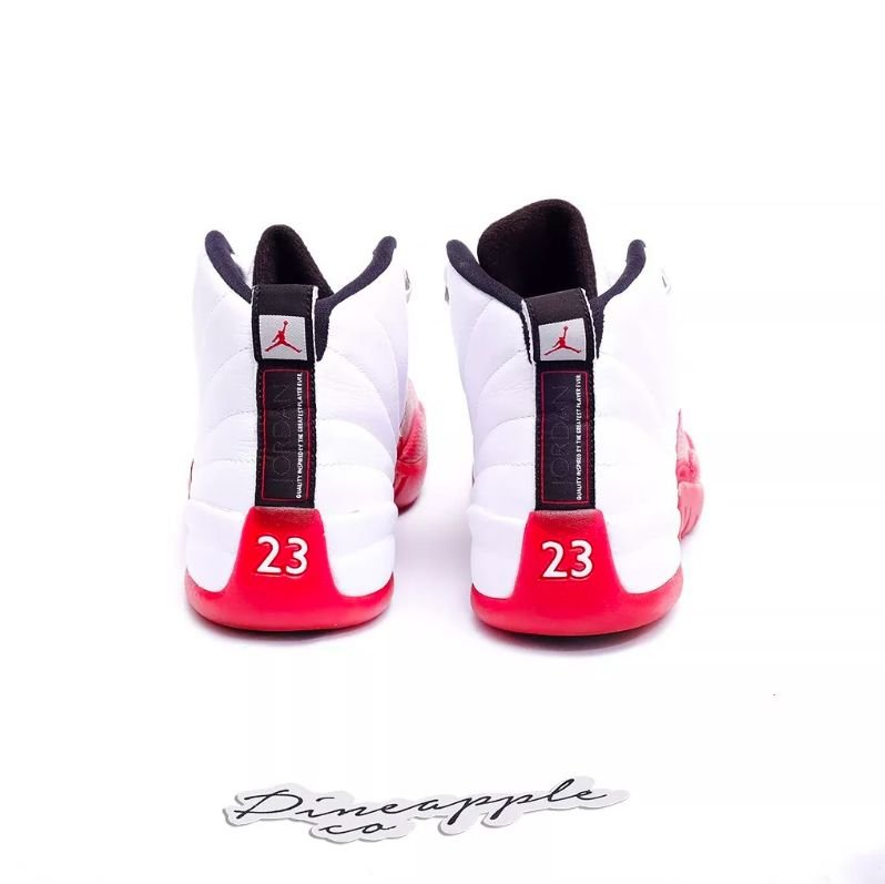 "info for 47af0 65d58 Nike Air Jordan 12 Retro ""Cherry"" (2009) - Pineapple Co."