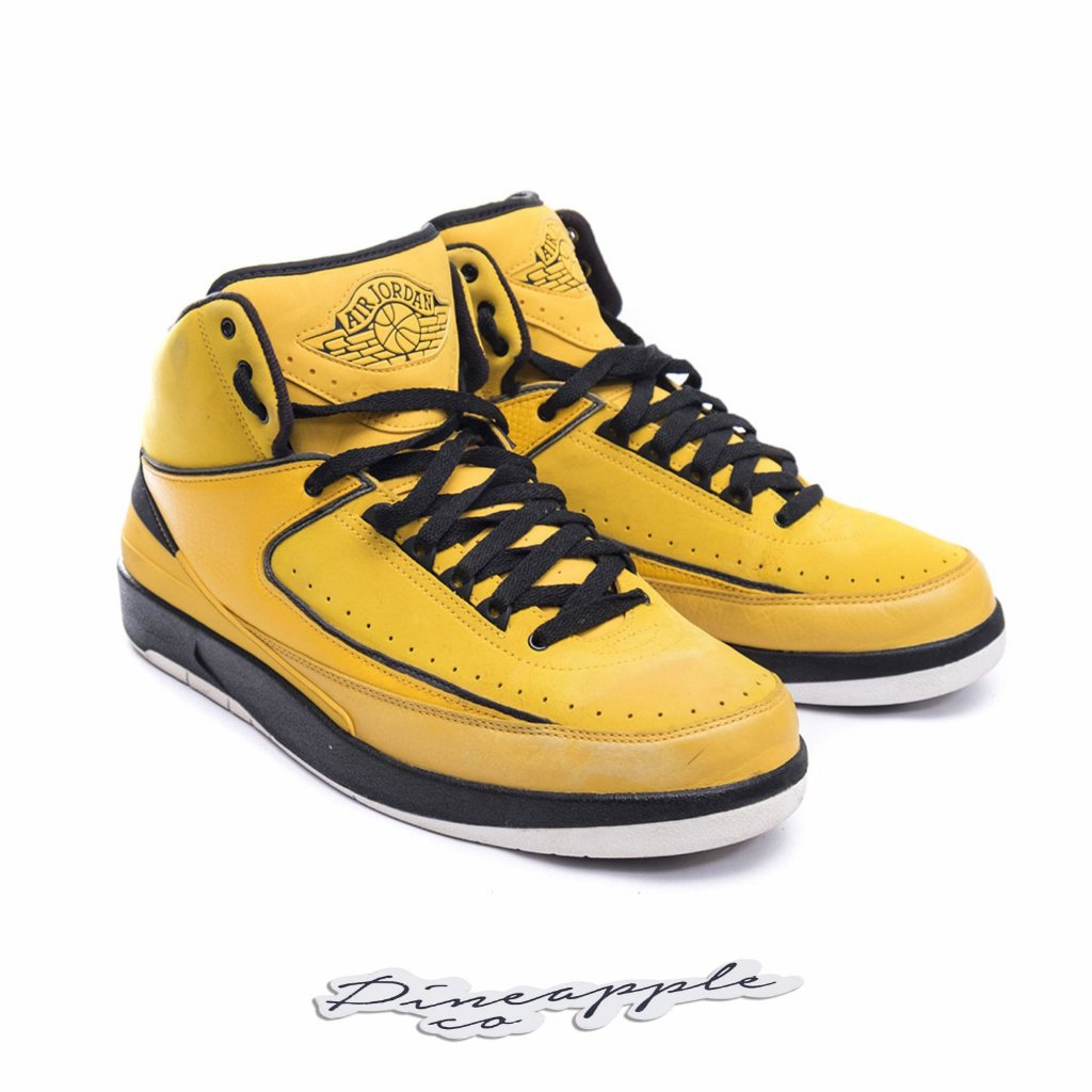"buy online 5d400 c7613 ... Nike Air Jordan 2 Retro QF Candy Pack ""Yellow"" (2010) - Imagem ..."