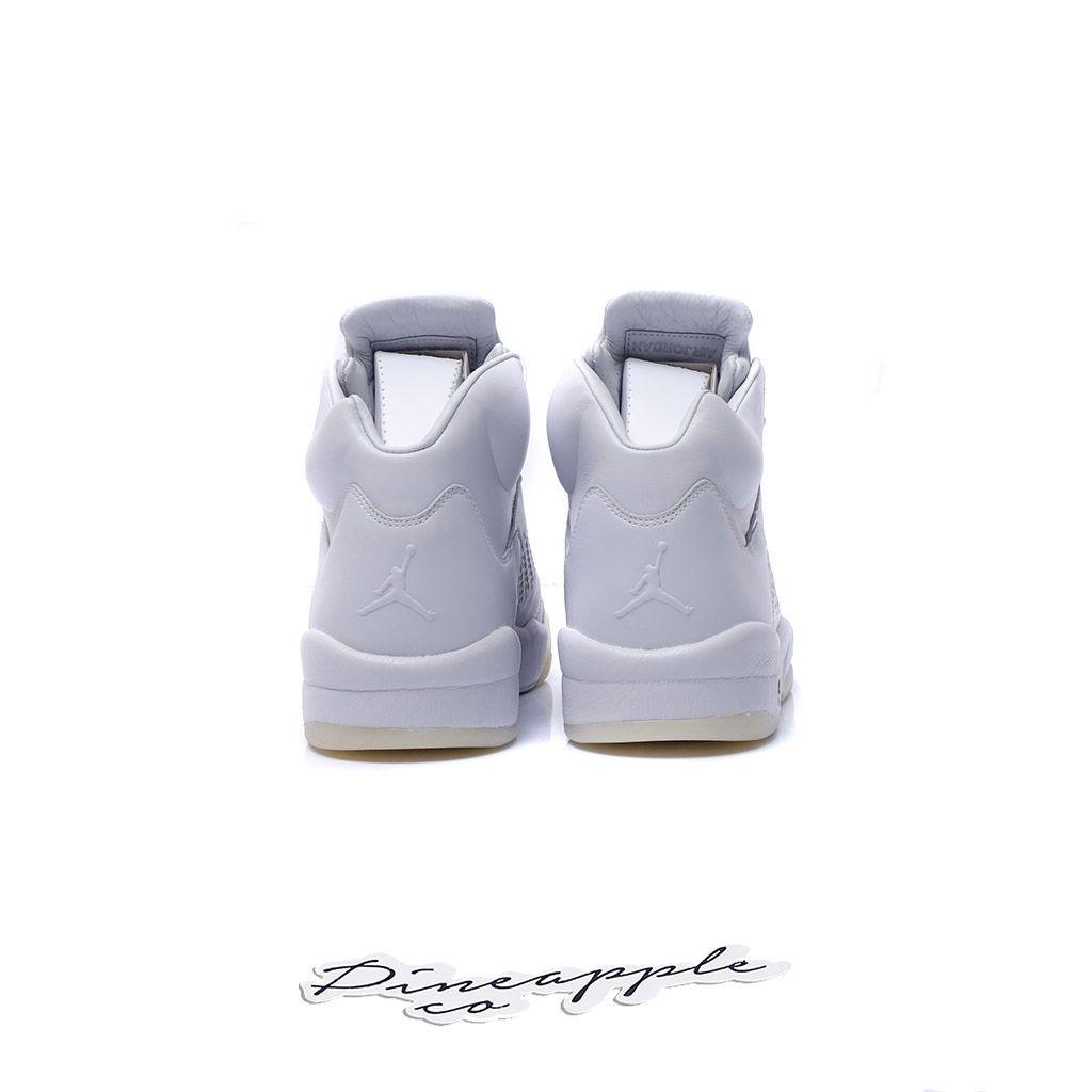 """Nike Air Jordan 5 Retro Premium """"Pure Platinum"""" - Pineapple Co. 6c26da547"""
