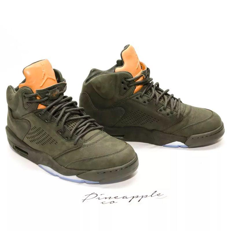 huge discount 905b3 4ac92 ... Nike Air Jordan 5 Retro Premium