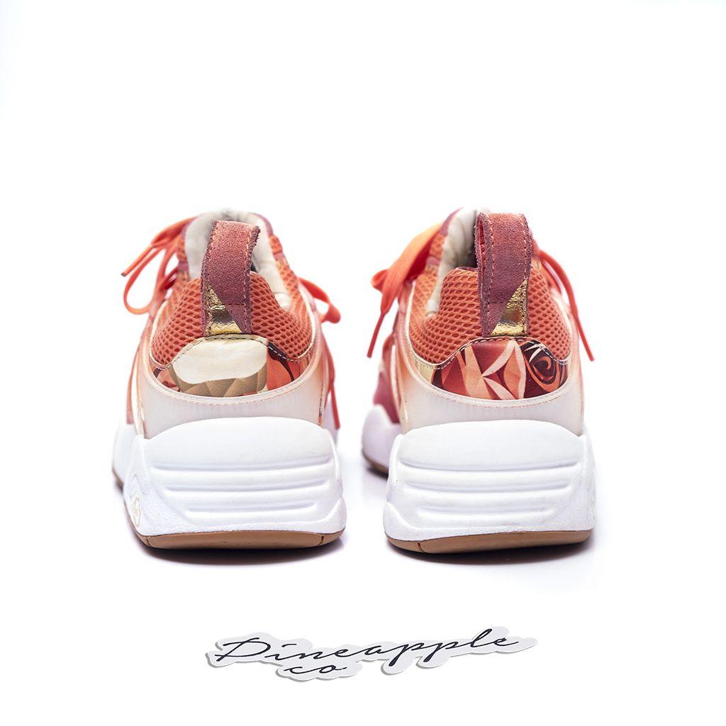 "c68d2b4a215 ... Puma Blaze of Glory x Careaux x Graphic ""Porcelain Rose White"" - Imagem  4"