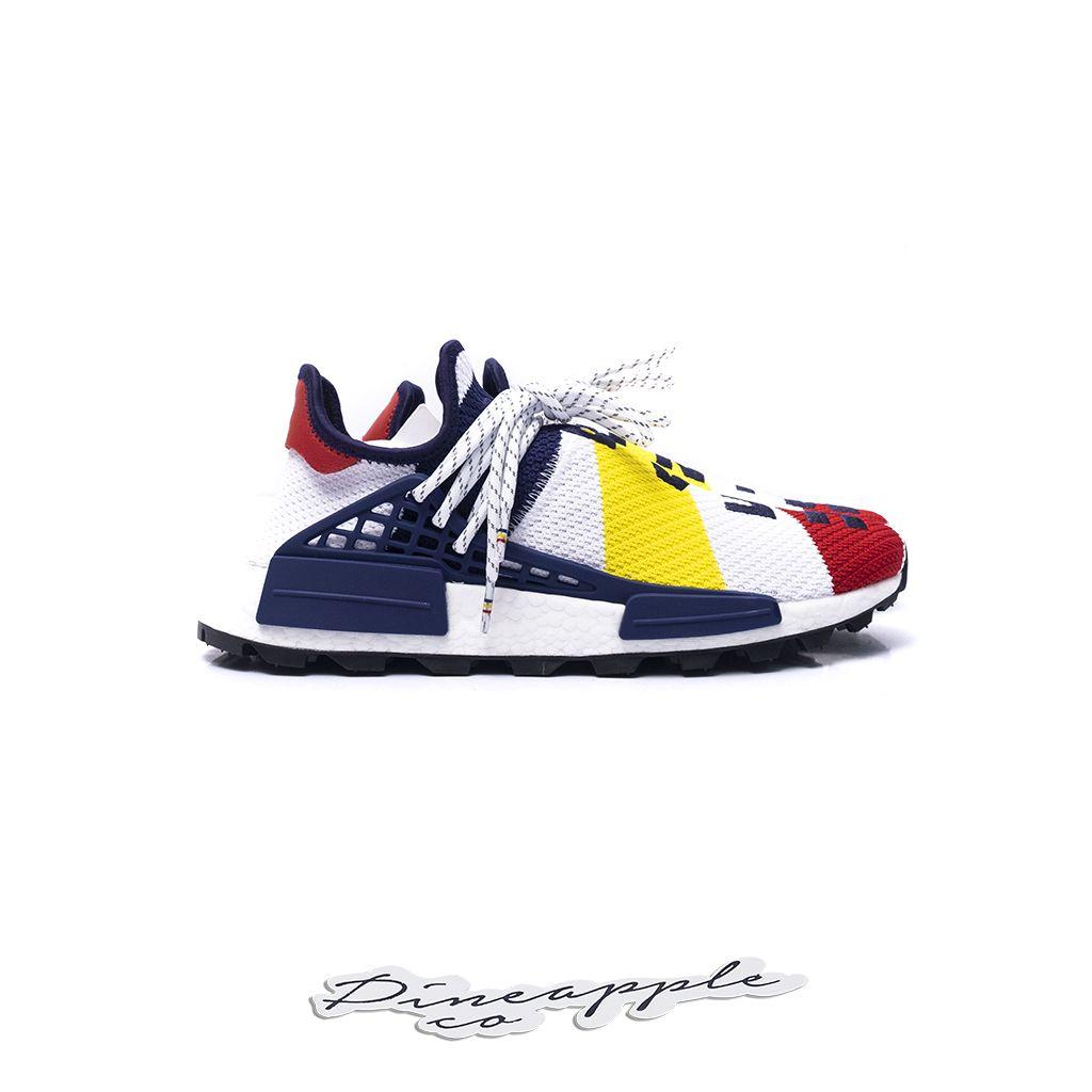 """6bd73e636 ... adidas NMD Human Race x Pharrell x Billionaire Boys Club """"Multicolor"""" -  Imagem 3 ..."""