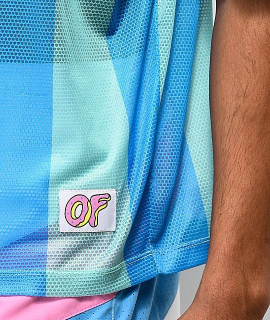 6c9b4054d32 ODD Future - Jersey Vertical Stripe Teal Soccer - Pineapple Co.