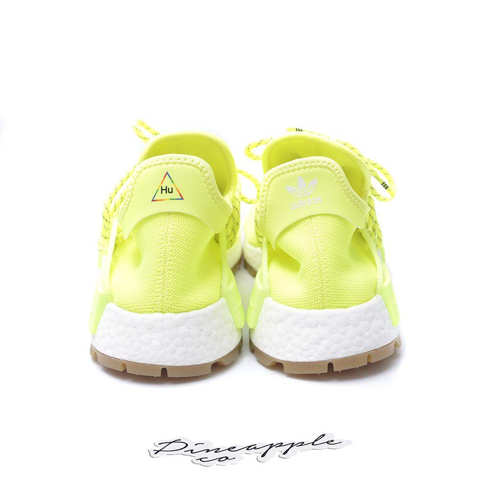 Detalhes sobre Adidas NMD R1 STLT Pk Primeknit Boost Stealth Amarelo Preto Branco Masculino AQ0934 mostrar título no original