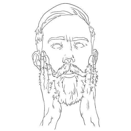 Como usar shampoo para barba: passo 3