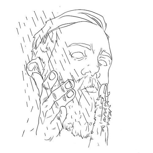 Como usar shampoo para barba: passo 4