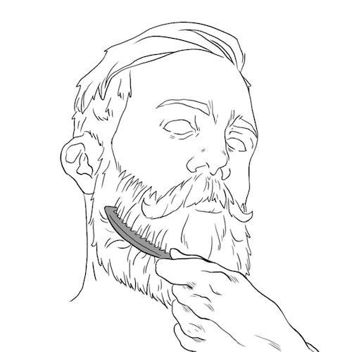 Como usar óleo para barba: passo 4