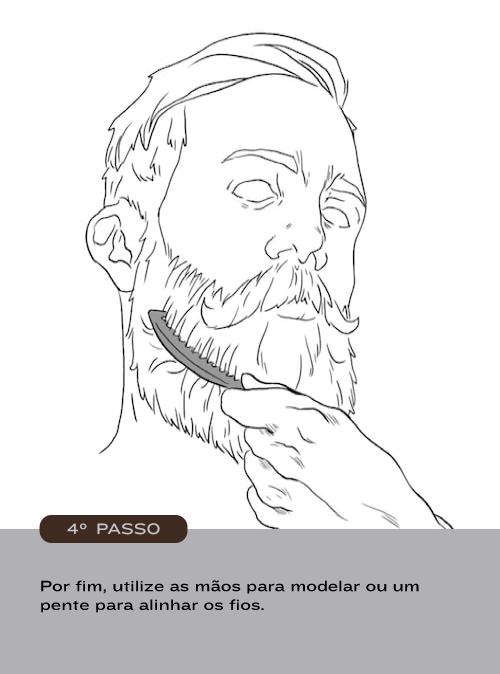 Como usar Balm Barba Brava - passo 4