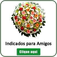 Coroas de Flores para Velório de Amigos