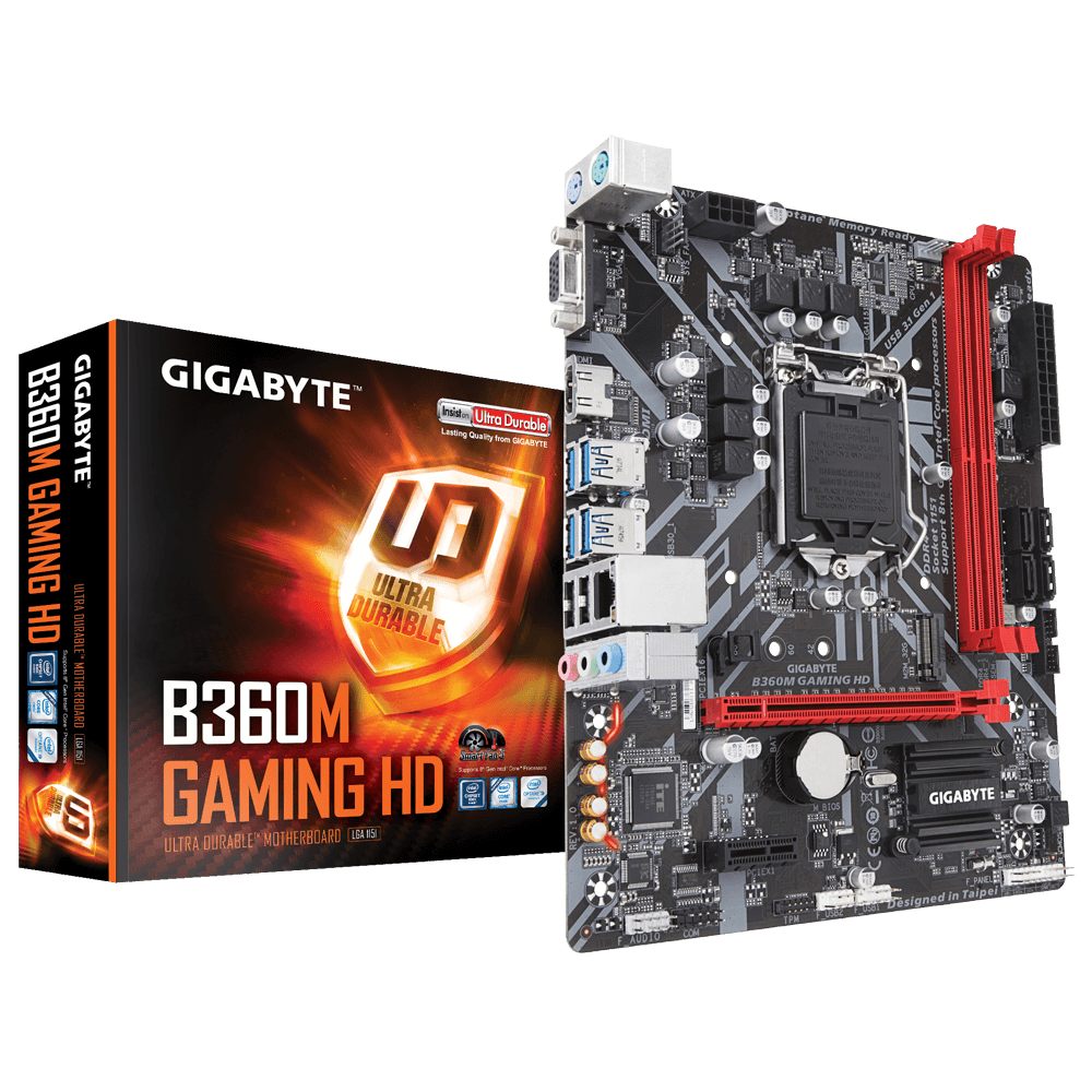 Placa mãe Gigabyte b360m Gaming HD