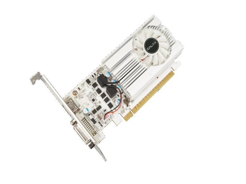 Placa de vídeo nvidia galax gt 1030 2gb sddr5 64bit ex white