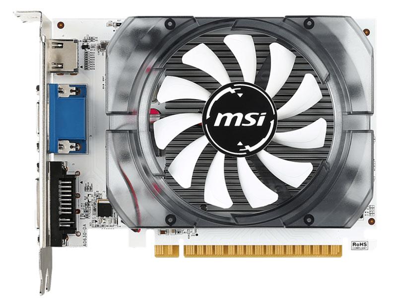Placa de vídeo nvidia msi Gt 730 2gb ddr3 128bit
