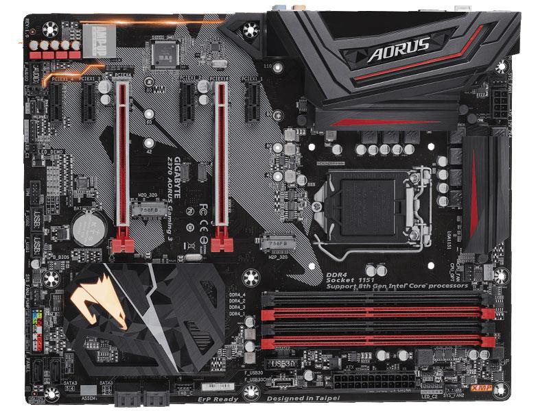 Placa mãe socket 1151 Intel gigabyte z370 aorus gaming 3