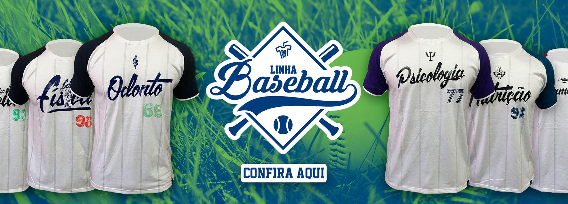 Banner Linha Baseball