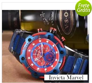 fc89f879bce Relógio Invicta Marvel - Lançamento 2018 - RPi Shop