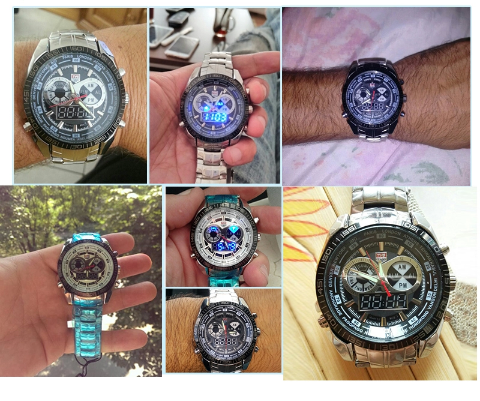 c97f70eb9c1 Relógio de luxo TVG Led seals elite Original - RPi Shop
