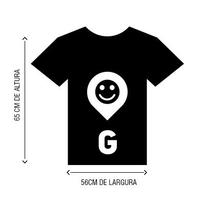 Camiseta VistaViagem tamanho G