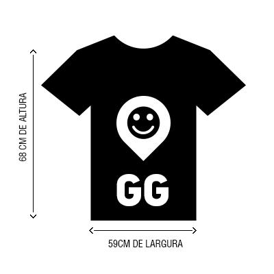 Camiseta VistaViagem tamanho GG