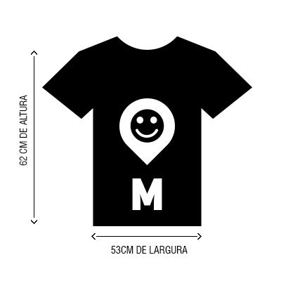 Camiseta VistaViagem tamanho M