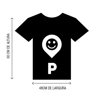 Camiseta VistaViagem tamanho P