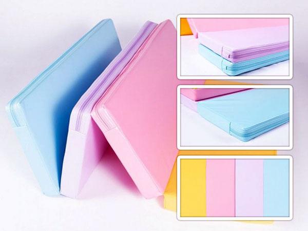 colchonete dobrável infantil mini space folder mat 100cm x 70cm x 4cm