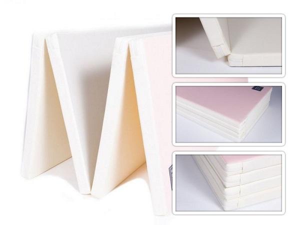 Colchonete de Atividades Parklon 4 Placas Colorido 200cm x 140cm x 4cm