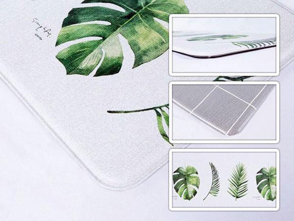 tapete para cozinha parklon pvc botânico
