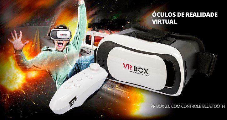 b14a10323c9f3 ... Óculos Vr Box 2.0 Realidade Virtual 3d Android e Ios - Imagem 6
