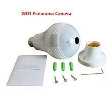 Câmera VR Cam V380 Lâmpada IP 360º Panorâmica Espia Wi-Fi